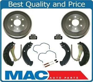 For GMC Silverado 1500 05-08 Models With Rear Brake Drum and Brake Shoes 6pc