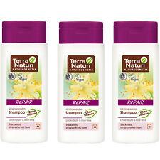Lot de 3 Shampooing Réparateur Bio & Vegan - Aloe Vera Tilleul - TERRA NATURI