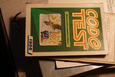 Ancien Code de la route  Code test - 1986 -  code robert