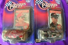 Earnhardt Sr & Earnhardt Jr Coke/Thunder Special, Lot of 2 Winners Circle 1999