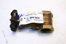 "Matco-Norca 514T05 1"" Threaded Gate Valve Ips"