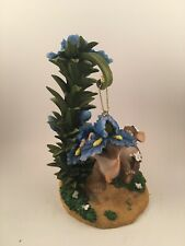 charming tails - pretty parachute ornament and stand - item # 88/123
