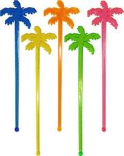 Palm Tree Cocktail Drink Stirrers / Swizzle Sticks (18 Supplied)