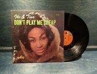 "IKE & TINA TURNER~""DONT PLAY ME CHEAP~1963 U.S.1st.PRESS""~SUE 2005~LP!!!"