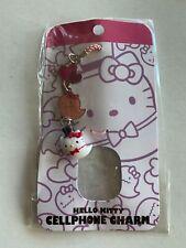 New Hello Kitty Halloween Ghost Cellphone Charm Pink Sanrio