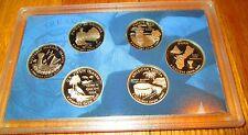 2009 U.S. Mint State Proof Quarters Territory Quarters No Box No COA Guam D.C.