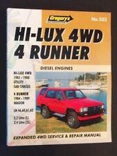 Toyota Hi-Lux 4WD 4 Runner - Diesel Engines - Expanded Repair Manual - pb