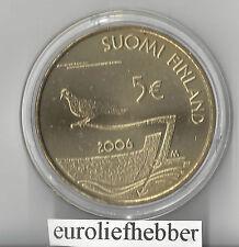 Finland   / Suomi     5 Euro  2006   Aland   in CAPSULE