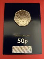 2016 Beatrix Potter 1866-1948 50p fifty pence Coin Brilliant Uncirculated