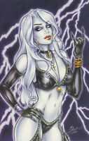 Lady Death Print, Art by Dawn McTeigue (11x17) - Comic Art