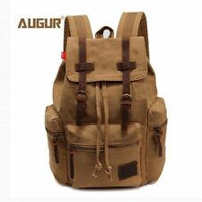 Vintage Mens Backpack Travel Large Capacity Rucksack School Bag Canvas