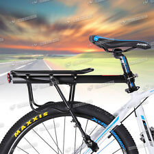 Aluminum Bicycle Rear Carrier Pannier Rack Seat Post Quick Release Rack Summer