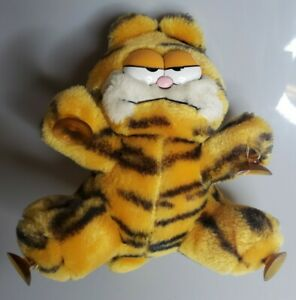 Vintage Garfield Window Cling Plush Suction Cup