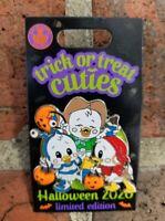 Trick Or Treat Cuties Pin Disney Halloween 2020 Huey Dewey & Louie Duck LE 5000