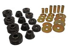 Energy Suspension Body Cab Mount Set Black for 73-80 C1500 # 3.4109G