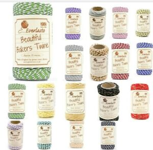 Original Bakers Twine Craft String 20m Twin Ply Cotton Butchers