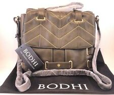 NWT Bodhi Womens Hay Market Tablet eBook Tote Martini Olive Bag Handbag Purse