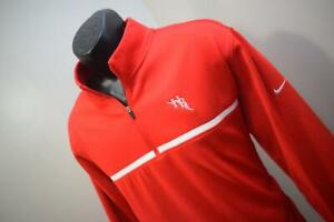 Nike Golf Jacket Therma Fit Tour Performance Fleece Zip Neck Athletic Mens Large