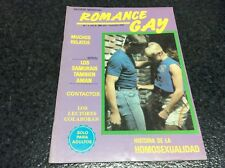 ROMANCE GAY Nº 1  Magazine  vintage gay Spain 1987