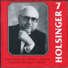THE SYMPHONIC WIND MUSIC OF DAVID R. HOLSINGER - VOLUME 7 - AUDIO CD