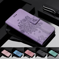 For Moto G7 Power G7 Play Z4 Play Magnetic Leather Flip Card Wallet Case Cover