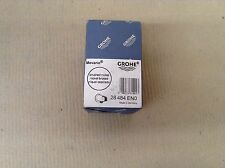 """Grohe 28484EN0 NICKEL  Movario Wall Supply Elbow With 1/2"""" Connection"""