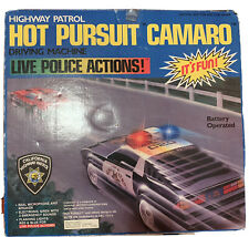 Video Giocattolo Vintage: HOT PURSUIT CAMARO - ABC TOYS USA 1987 Nuovo