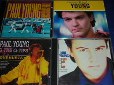 4 CD Paul YOUNG Les indispensables Q-TIPS from time to