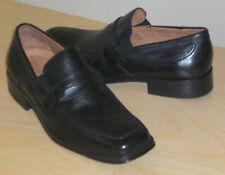Donald J. Pliner loafers Kayn black calfskin 12 Med NEW