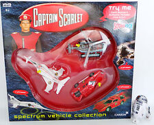 CAPTAIN SCARLET : SPECTRUM VEHICLE COLLECTION. HELICOPTER, SSC, INTERCEPTOR (XP)