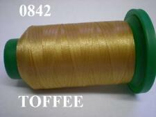 ISACORD MACHINE EMBROIDERY THREAD 1000M TOFFEE 0842