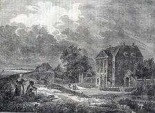 Artikel :huis Gemeenlandshuis Zwanenburg  / Nederlandsch magazijn 1836