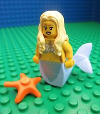 Lego Mermaid Minifig City Pirates Cairibbean Atlantis Figure 71000 Series 9