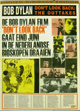 """BOB DYLAN """"DON'T LOOK BACK: THE OUTTAKES""""  dvd mint"""