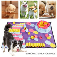 Pet Dog Snuffle Mat Nose Training Sniffing Pad Pet Fun Toy Food Feeding Cushion.