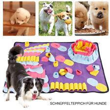 Pet Dog Snuffle Mat Nose Training Sniffing Pad Toy Feeding Cushion Blanket Game