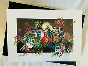 SARAH ARNETT limited edition ARTWORK PRINT cert authenticity mint new condition
