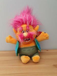 BNWT King Peppy Troll Plush - Dreamworks - 12 Inches Tall  RARE
