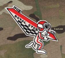 "GENERAL MOTORS 1965 PONTIAC GTO ROYAL BOBCAT RACING TEAM 5"" iron-on LOGO PATCH"