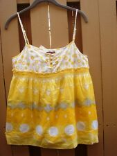 NWT Juicy Couture Swiss Dot Date Top Bliss size 6 retail $128