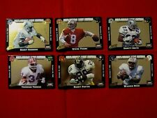 1993 ACTION PACKED MONDAY NIGHT FOOTBALL PROTOTYPE 6 CARD SET SEALED - SANDERS +