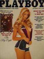 Playboy September 1982 | Connie Brighton Fran Jeffries Girls of the Big 8 #1455+