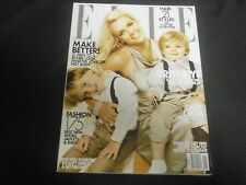 2010 JANUARY ELLE MAGAZINE - BRITNEY SPEARS FRONT FASHION COVER - O 6896