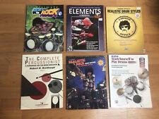 Lot Of 6 Drum Method Books Carmine Appice Percussion Instruction
