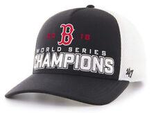 BOSTON RED SOX MLB 2018 WORLD SERIES CHAMPIONS 47 BRAND SNAPBACK HAT CAP  NEW! af67d28fe76c