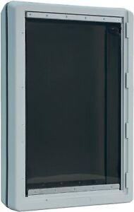 """Ideal Pet Designer Series Ruff Weather Pet Door Super Large Grey 15"""" x 23.5"""""""