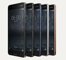 "New Imported Nokia 6 Duos Dual 32GB 3GB 5.5"" 16MP 8MP Mix Color-Android Nougat"