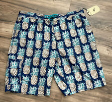 TOMMY BAHAMA Mens Swim Trunks Swimsuit XXL 2XL Pineapples Board Shorts NEW