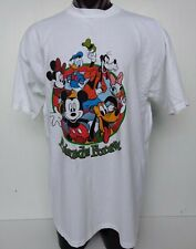 Disney Mickey Mouse Unlimited Friends Forever 90s Adult Men's Graphic T-Shirt Xl