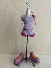 Bratz Girlz Doll Clothes Outfit Set Shorts Top & Matching Shoes